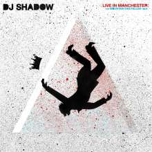 DJ Shadow: Live In Manchester: The Mountain Has Fallen Tour, CD