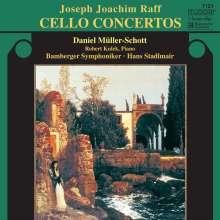 Joachim Raff (1822-1882): Cellokonzerte Nr.1 & 2, CD