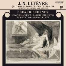 Jean Xavier Lefevre (1763-1829): Klarinettenquartette Nr.5 & 6, CD