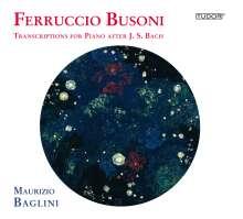 Ferruccio Busoni (1866-1924): Bach-Transkriptionen, CD