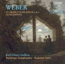 Carl Maria von Weber (1786-1826): Klarinettenkonzerte Nr.1 & 2, Super Audio CD