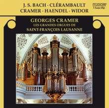 Georges Cramer - Bach / Clerambault / Cramer / Händel / Widor, CD