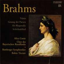 Johannes Brahms (1833-1897): Werke für Chor & Orchester, Super Audio CD