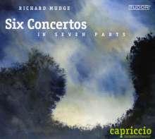 Richard Mudge (1718-1763): 6 Concertos in Seven Parts, CD