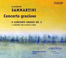 Giuseppe Sammartini (1695-1750): Concerti grossi op.5 Nr.1-6, CD