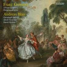 Franz Krommer (1759-1831): Flötenquartette opp.90,92,93, CD