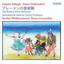 Sandor Balogh: Die Bremer Stadtmusikanten, CD