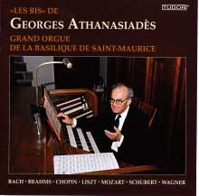 Georges Athanasiades - Grand Orgue de la Basilique de Saint-Maurice, CD