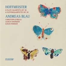 Franz Anton Hoffmeister (1754-1812): Flötenquartette op.18 Nr.1-6, CD