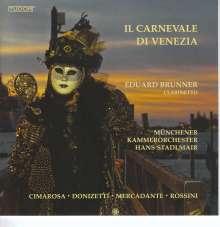Eduard Brunner - Il Carnevale Di Venezia, CD
