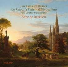 """Johann Ludwig Dussek (1760-1812): Klaviersonaten op.70 """"Le Retour a Paris"""" & op.77 """"L'Invocation"""", CD"""