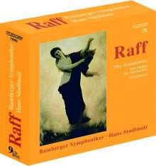 Joachim Raff (1822-1882): Symphonien Nr.1-11, 9 CDs