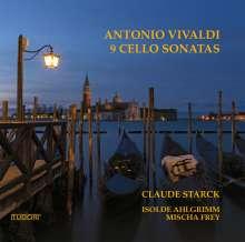 Antonio Vivaldi (1678-1741): Sonaten für Cello & Bc RV 39-47, 2 CDs