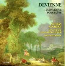 Francois Devienne (1759-1803): Flötenkonzerte Nr.1-12, 4 CDs