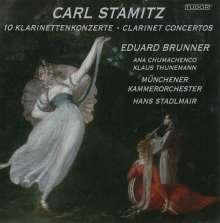 Carl Stamitz (1745-1801): 10 Klarinettenkonzerte, 3 CDs