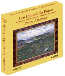 Peter Aronsky - Les Delices du Piano, 3 CDs
