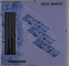"""Jack White (White Stripes): Over And Over And Over / Everything You've Ever Learned, Single 7"""""""
