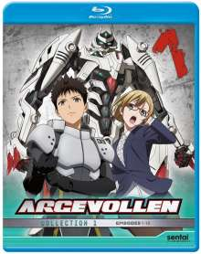 Argevollen Collection 1: Argevollen Collection 1, Blu-ray Disc