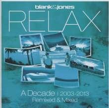 Blank & Jones: Relax: A Decade - Remixed & Mixed, 2 CDs