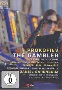 Serge Prokofieff (1891-1953): Der Spieler, DVD
