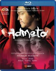 Georg Friedrich Händel (1685-1759): Admeto, Blu-ray Disc