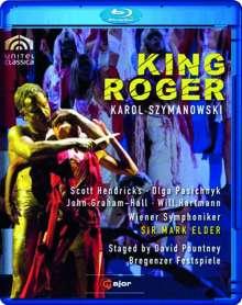 Karol Szymanowski (1882-1937): Krol Roger, Blu-ray Disc