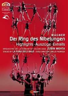 Richard Wagner (1813-1883): Der Ring des Nibelungen (Ausz.), DVD