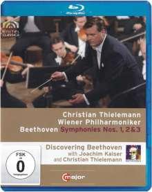 Ludwig van Beethoven (1770-1827): Discovering Beethoven (Symphonien Nr.1-3), Blu-ray Disc