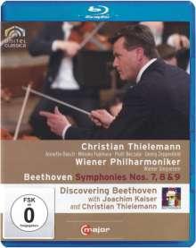 Ludwig van Beethoven (1770-1827): Discovering Beethoven (Symphonien Nr.7-9), Blu-ray Disc