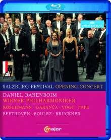 Salzburger Festspiele 2010 - Eröffnungskonzert, Blu-ray Disc