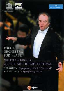 Valery Gergiev at the Abu Dhabi Festival, DVD