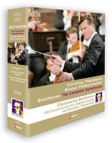 Ludwig van Beethoven (1770-1827): Discovering Beethoven (Symphonien Nr.1-9), 3 Blu-ray Discs