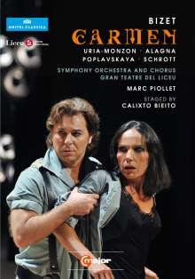 Georges Bizet (1838-1875): Carmen, 2 DVDs