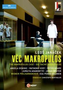 Leos Janacek (1854-1928): Die Sache Makropulos, DVD