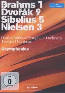 Danish National SO - 4 Symphonies, DVD