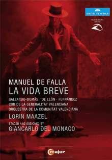 Manuel de Falla (1876-1946): La Vida Breve, DVD