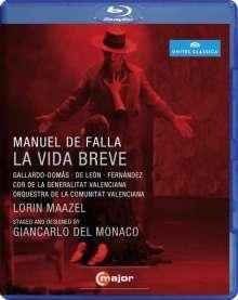 Manuel de Falla (1876-1946): La Vida Breve, Blu-ray Disc