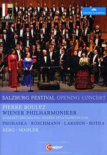 Salzburger Festspiele 2011 - Eröffnungskonzert, DVD