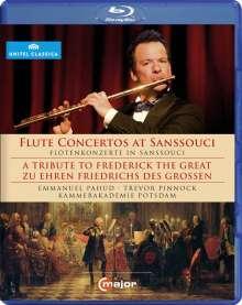 Emmanuel Pahud - Flötenkonzerte aus Sanssouci, Blu-ray Disc