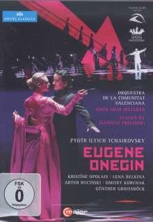 Peter Iljitsch Tschaikowsky (1840-1893): Eugen Onegin, 2 DVDs