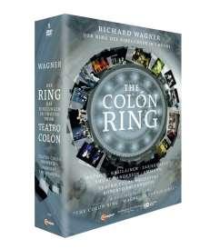 "Richard Wagner (1813-1883): Der Ring des Nibelungen - ""The Colon Ring"" (7-stündige Kurzfassung), 5 DVDs"