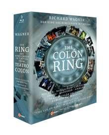 """Richard Wagner (1813-1883): Der Ring des Nibelungen - """"The Colon Ring"""" (7-stündige Kurzfassung), 3 Blu-ray Discs"""