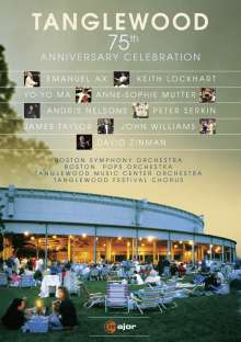Tanglewood - 75th Anniversary Celebration, DVD