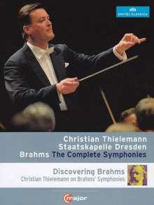 Johannes Brahms (1833-1897): Symphonien Nr.1-4, 2 Blu-ray Discs
