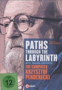 Krzysztof Penderecki (geb. 1933): Paths Through The Labyrinths - The Composer Krzysztof Penderecki (Dokumentation), DVD