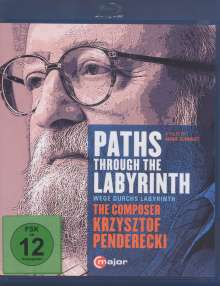 Krzysztof Penderecki (geb. 1933): Paths Through The Labyrinths - The Composer Krzysztof Penderecki (Dokumentation), Blu-ray Disc
