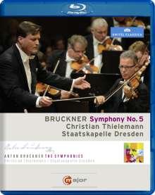 Anton Bruckner (1824-1896): Symphonie Nr.5, Blu-ray Disc