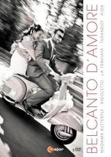 Belcanto D'Amore (5 Operngesamtaufnahmen), 5 DVDs