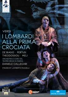 Giuseppe Verdi (1813-1901): Tutto Verdi Vol.4: I Lombardi (DVD), DVD