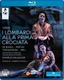 Giuseppe Verdi (1813-1901): Tutto Verdi Vol.4: I Lombardi (Blu-ray), Blu-ray Disc
